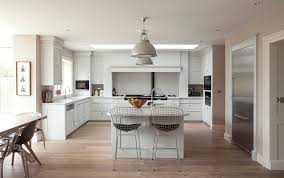 Modern American Kitchen Design Contemporary Kitchen Wooden Island Lacquered American American