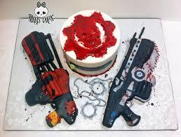 war cakes gears of war cake take 2 by corpse on deviantart