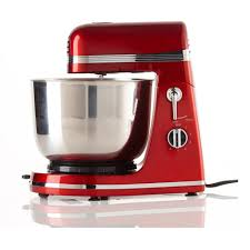 Kitchen Stand Mixer by Think Kitchen 3 5 L T K Promix 6 Speed Stand Mixer In Red