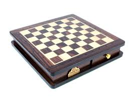travel magnetic chess set rosewood 9 u0026 034 algebraic notation