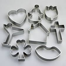 celebrate it cookie cutters set of 8 celebration shapes cookie cutters cocktail house
