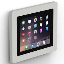 How To Mount Ipad To Wall Fixed Slim Wall Ipad 2 3 U0026 4 Tablet Mount Light Grey
