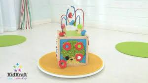 wonder toy kidkraft duża kostka edukacyjna 63243 bead maze cube 2