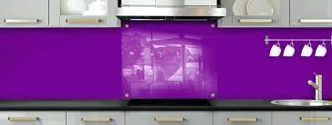 fonds de cuisine credence en verre transparent cuisine cool finest carrelage brique