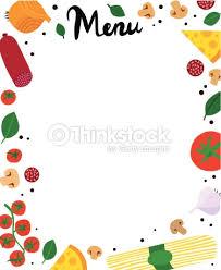 italian menu borders nvsi