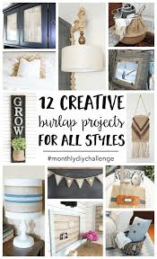 Burlap Decor Ideas Burlap Craft Projects 12 Creative Ideas For All Styles