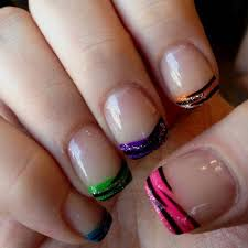 best 20 multicolored nails ideas on pinterest colorful nail