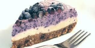 cuisine crudivore cheesecake cru au faux mage aux bleuets myrtilles sans produits