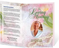 memorial service programs templates free funeral service template novasatfm tk
