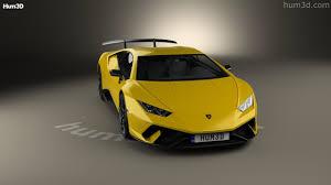 Lamborghini Huracan Models - 360 view of lamborghini huracan performante 2017 3d model hum3d