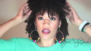 how to 80 u0027s rock style for natural hair youtube