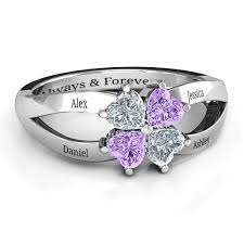 birthstone rings birthstone rings personalizable and engravable jewlr