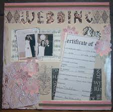 wedding scrapbooks capture a memory wedding scrapbook the wedding printer