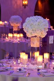 attractive image of white wedding design and decoration using