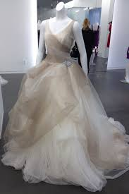 vera wang stone ombre tulle ball gown with pick up skirt sty