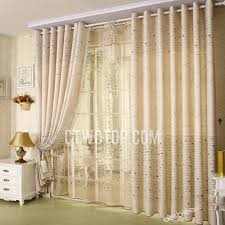Pattern Window Curtains Pattern Blended Material Print Bedroom Window Curtains Ideas