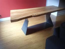 custom made dining tables uk live edge custom made dining table wild edge tables treasure