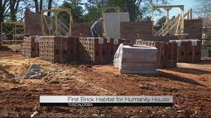 Brick House by First Brick House For Habitat For Humanity Youtube
