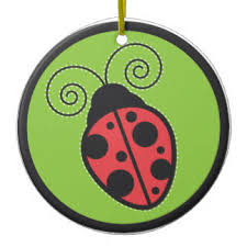 ladybird ornaments keepsake ornaments zazzle