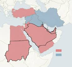 east political map stark political divisions a more complex map of sunnis and