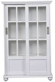 Bookcases With Doors On Bottom Amazing White Bookcase With Doors Home Design Ideas At On