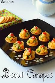 simple vegetarian canapes biscuit canapes with vegetable topping monaco canapes recipes