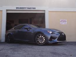 lexus rcf wheels velocity factor 2015 lexus rc f with vfr wheel spacers vfr