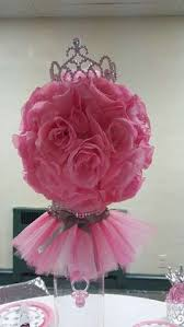 baby shower centerpieces for girl ideas tutus tiaras baby shower centerpieces pinkandgold my diy