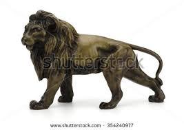 metal lion sculpture lion sculpture stock images royalty free images vectors