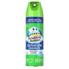 shop shower bathtub cleaners at lowes com scrubbing bubbles 20 fl oz shower and bathtub cleaner