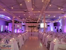 draping rentals allcargos tent event rentals inc cafeteria wedding transformation