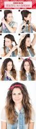 Easy Hairstyles Wavy Hair by 8 Easy Hair Tutorials With Bandana