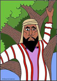 zacchaeus flip chart ebibleteacher