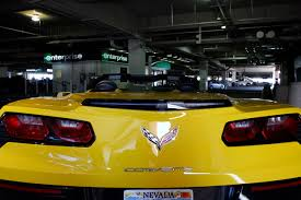 rent a corvette for the weekend mccarran s rent a car expands with sports car models las