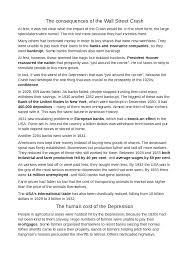 la grande depressione the great depression docsity
