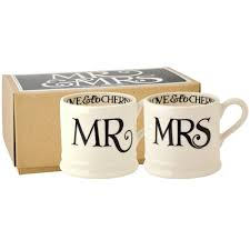 baby mugs black toast and marmalade mr and mrs set of 2 baby mugs boxed