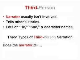 Narrative Essay First Person Point View Examples Of Writing In