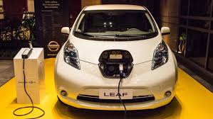 nissan leaf charging points electric cars charging points to boost sales