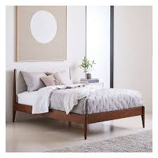 West Elm Bed Frames West Elm Modern Show Wood Bed Full Twill Wheat 799 Liked