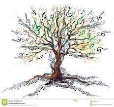 musical tree royalty free stock images image 21880419