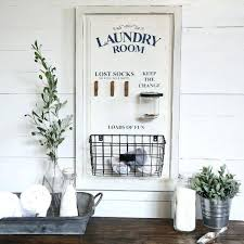Decorate Laundry Room Awesome Laundry Room Decor Our Laundry Sign Is A Large Wood