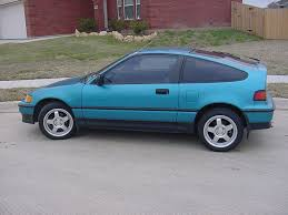 Honda Crx 1987 I Was The First Of My Friends To Have One 1984 Honda Crx The