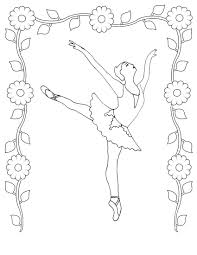 coloring pages realistic ballet colouring pages angelina ballerina