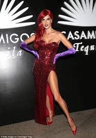 Roger Rabbit Halloween Costume Alessandra Ambrosio Dresses Jessica Rabbit Hits