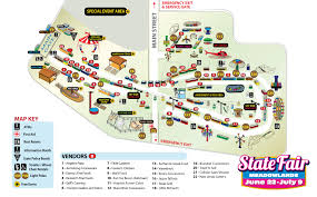Iowa State Fair Map by State Fair Map Minnesota State Fair Parking Map Inspiring World