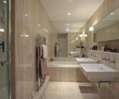 Bathrooms With Mirrors by Photo Of Modern Beige Brown Orange Bathroom With Mirror Tiled