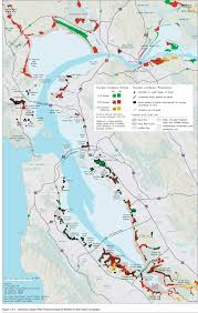 san francisco land use map sf invasive spartina project
