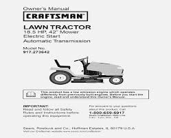 wiring diagram for craftsman lawn tractor 917 u2013 cubefield co