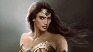 wonderful concept art woman amazons