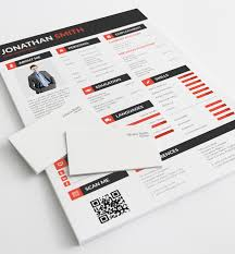 Psd Resume Template All In One Psd Resume Template